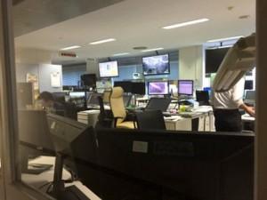 地震火山現業室