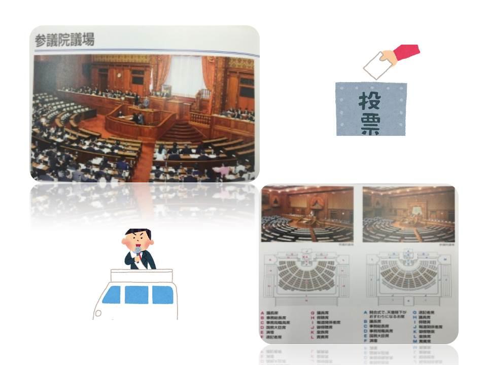 学院 総合学習(国会議事堂) (2)